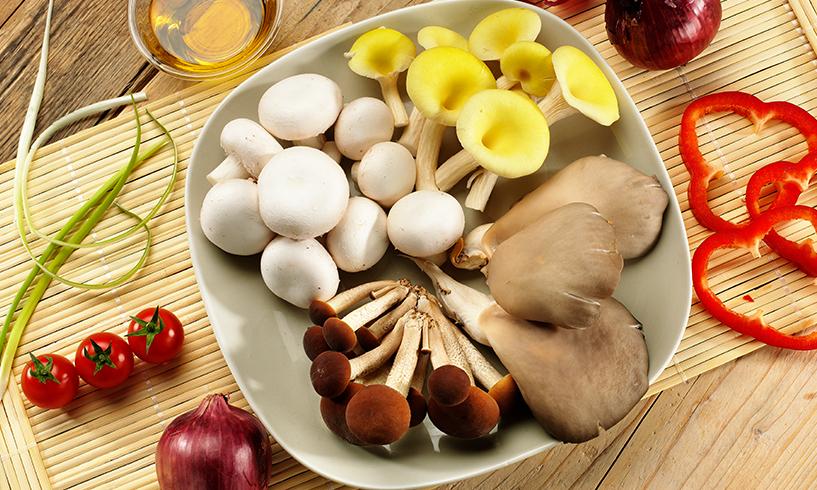 I valori dei funghi coltivati